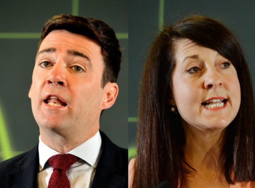 Andy Burnham and Liz Kendall are the frontrunners in the Labour leadership campaign.